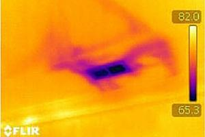 Infrared Duct Air Loss
