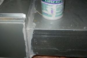 Mastic Duct Sealing