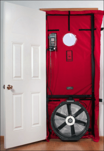 blower door test new homes