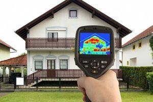 infrared home heat loss analysis