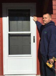 Installed Storm Door North Smithfield, RI