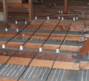 Energy Geeks can remove Knob and Tube wiring from your attic.