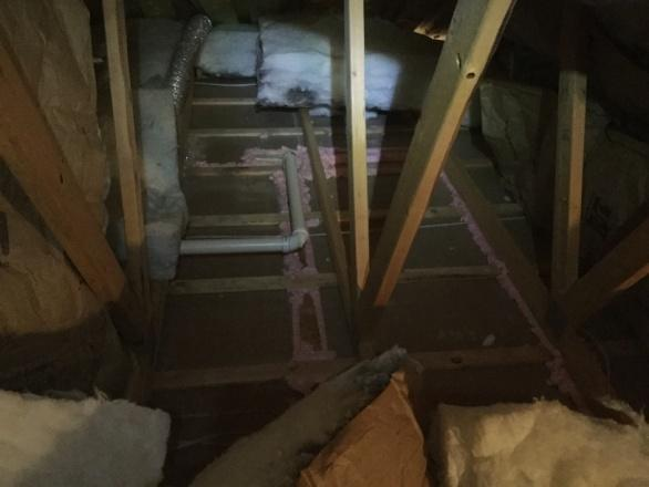 air sealing attics