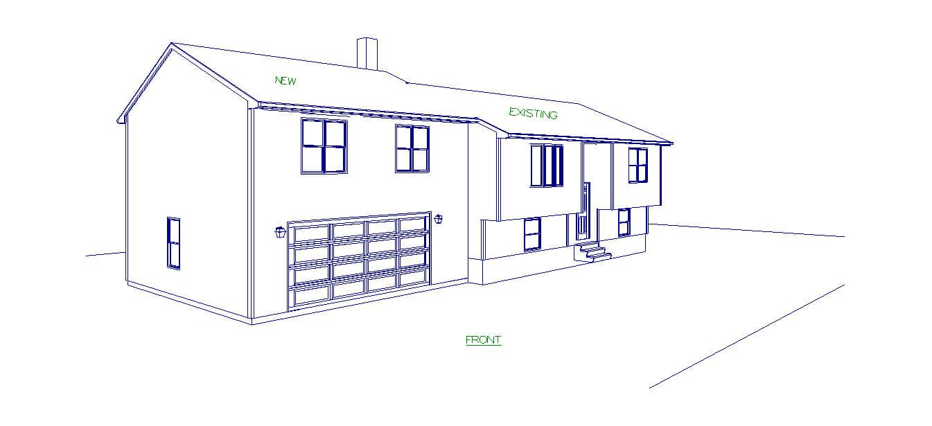 Custom Home Design - Visible Line Left Front in Warwick, RI