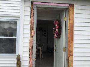 New Storm Door in Cranston, RI
