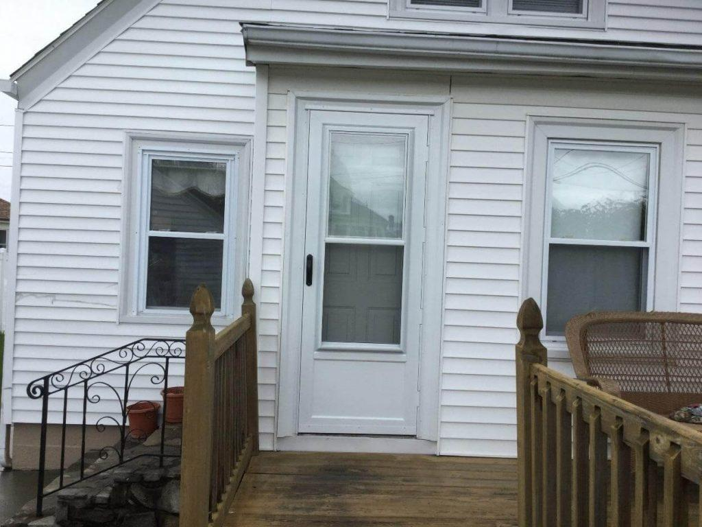 New Storm Door in Cranston RI