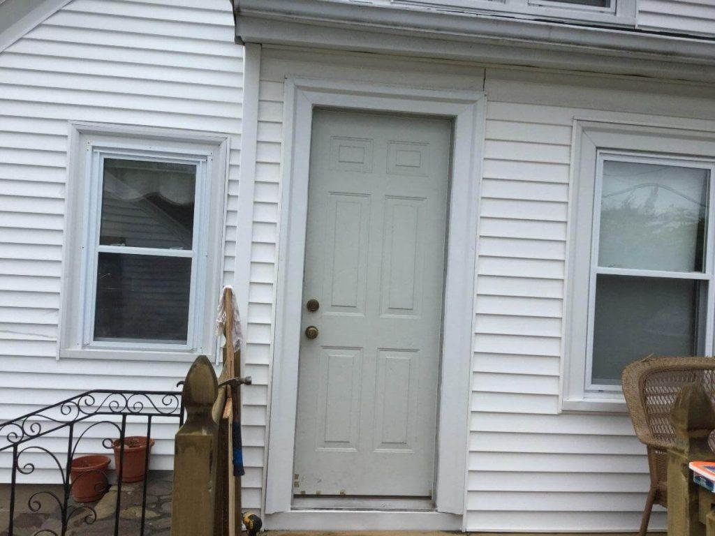 New Storm Door in Cranston, RI