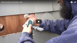 Wall Insulation in Needham, MA by Energy Geeks