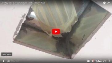 Duct Leakage Test – Providence, RI