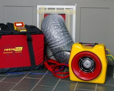 Duct Leakage Testing – New Homes in Rhode Island & Massachusetts