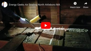 Air Sealing – North Attleboro, MA