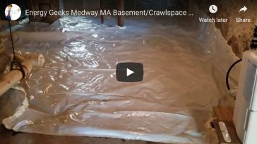 Basement/Crawlspace Vapor Barrier – Medway, MA