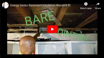 Basement Sill Insulation – Warwick, RI