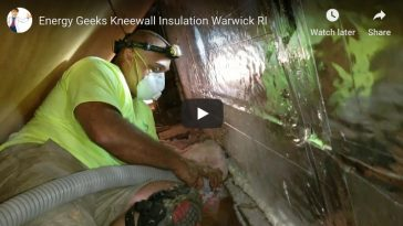 Kneewall Insulation – Warwick, RI